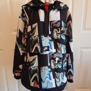 Women's Nike Marble Print Windbreaker Jacket